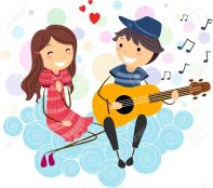 12b241cda115a9752beb6ee3a7aae865_boy-sing-a-song-clipart-courting-a-woman-clipart_1300-1151
