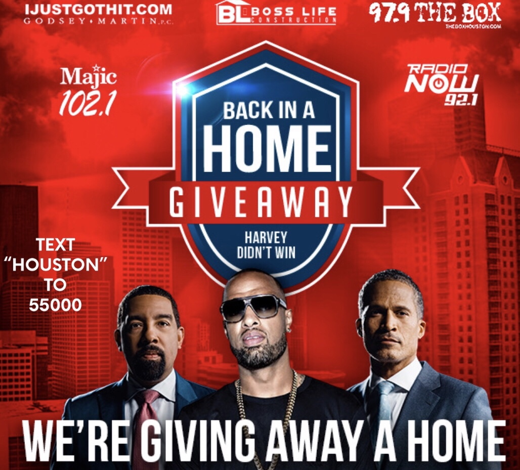 Boss Life Construction, Slim Thug, Radio One Houston, & IJustGotHit.com Are Giving Away A House To Harvey Survivory